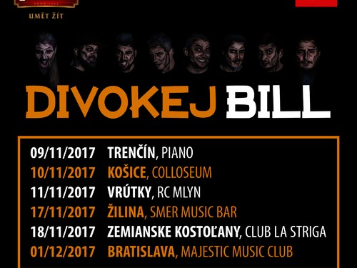 Divokej Bill TSUNAMI Tour 2017
